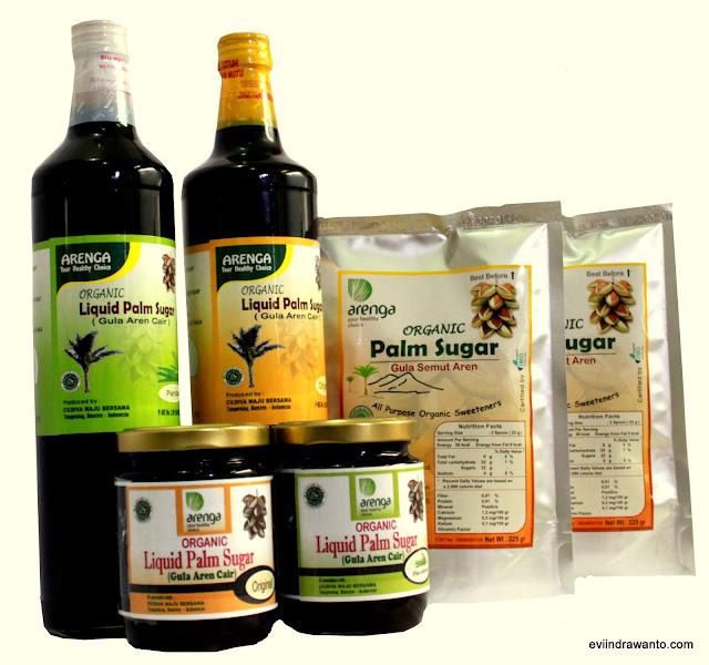 arenga liquid palm sugar praktis