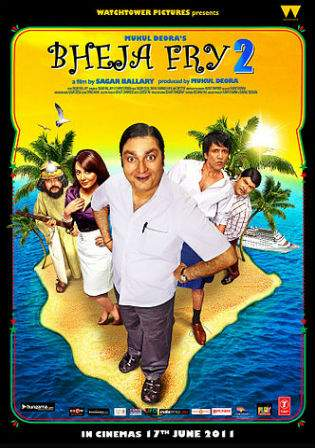 Bheja Fry 2 (2011) HDRip 950Mb Full Movie Hindi 720p Watch Online Free Download bolly4u