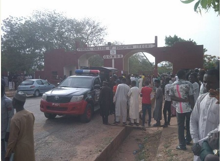 Students Shut Down College of Education in Gombe Over Water Scarcity (Photos)