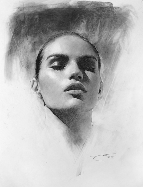 15-Casey-Baugh-Portrait-Drawings-of-Charcoal-Studies-www-designstack-co