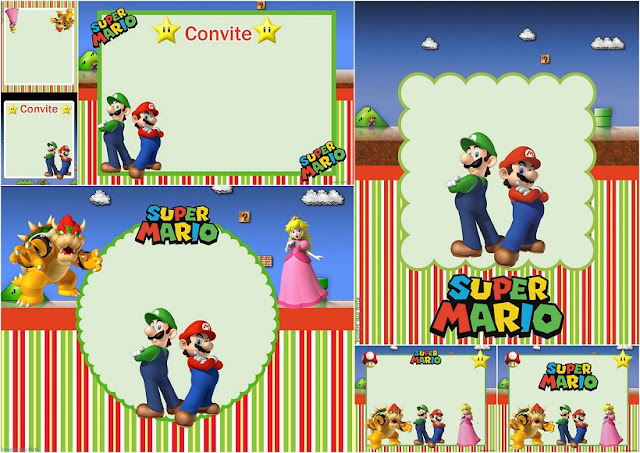 super mario bros party free printable invitations oh