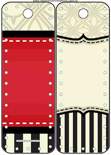 Yellow, Red and White: Free Printables for your Quinceanera Party.