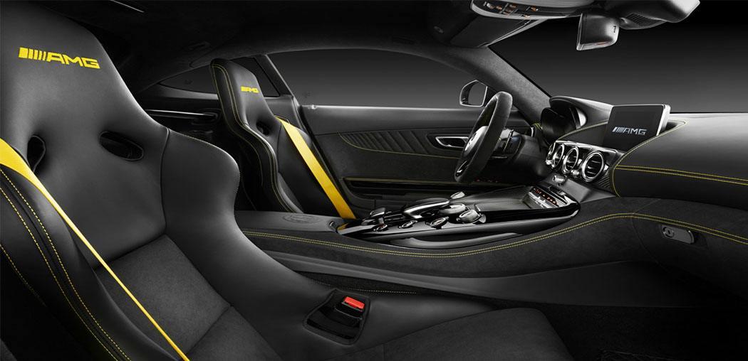 Mercedes-AMG GTR interior