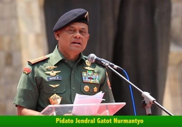 """Pidato HEROIK JENDERAL GATOT: """"JANGAN SOK SOKAN Seolah Yang MEMERDEKAKAN INDONESIA"""""""