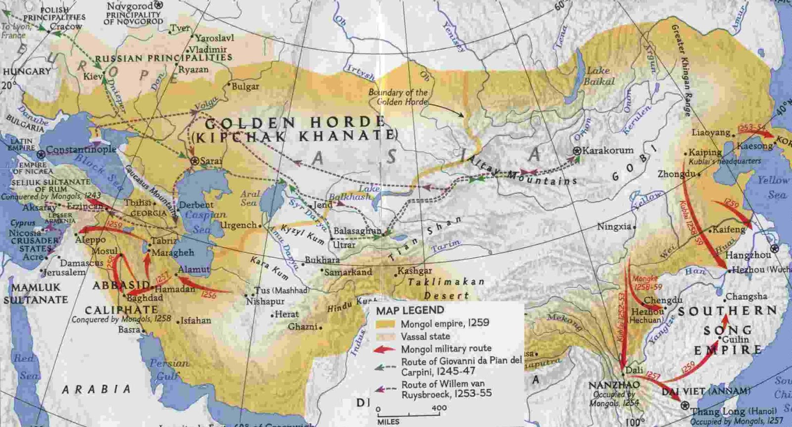 China from Mongol rule to the Ming