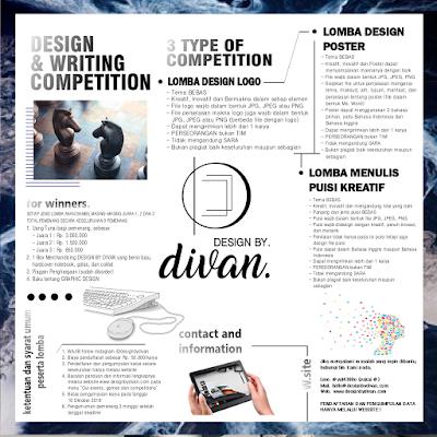 Lomba Menulis Puisi Kreatif Nasional 2018 oleh DESIGN BY DIVAN
