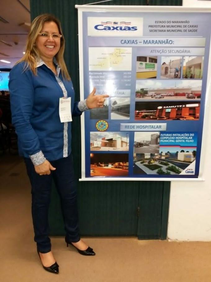 Secretária de saúde de Caxias participa do 5º Congresso Norte Nordeste de saúde na Bahia