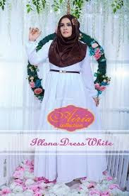 Kumpulan Model Baju Gamis Untuk Wanita Gemuk Desain Terbaru