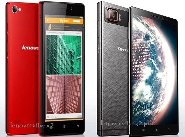 Harga Spesifikasi Lenovo Vibe X2 dan Lenovo Vibe Z2 Pro