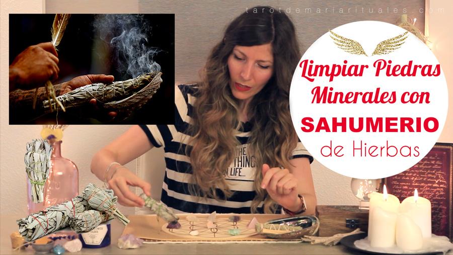 Ritual Limpiar Piedras Minerales con Sahumerio + Sol