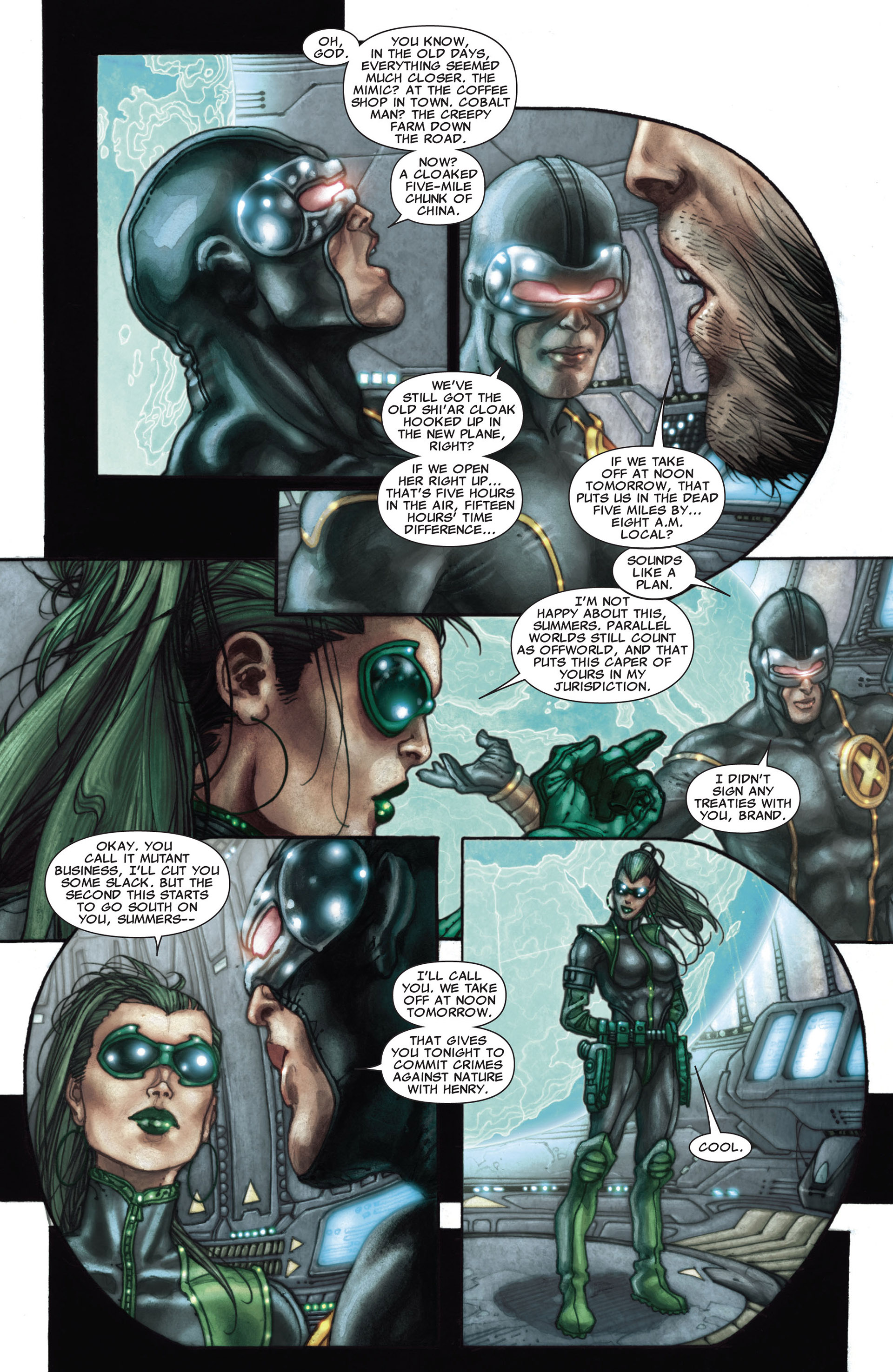 Read online Astonishing X-Men (2004) comic -  Issue #27 - 16
