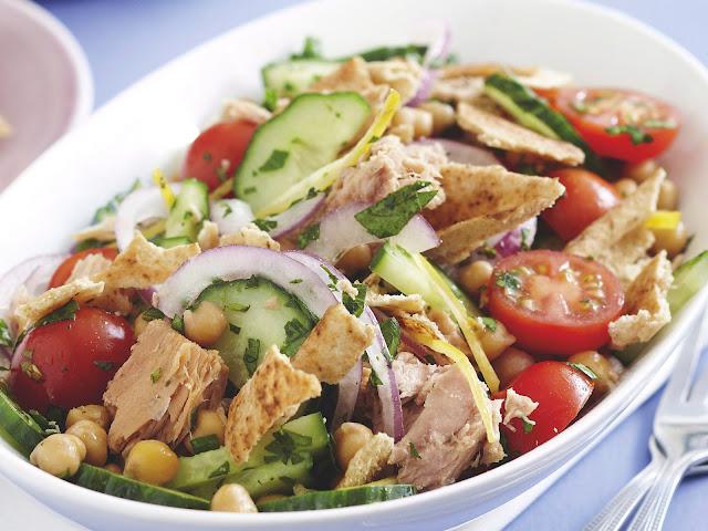 Lebanese Tuna Salad Recipe