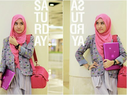 model baju hijab trendy