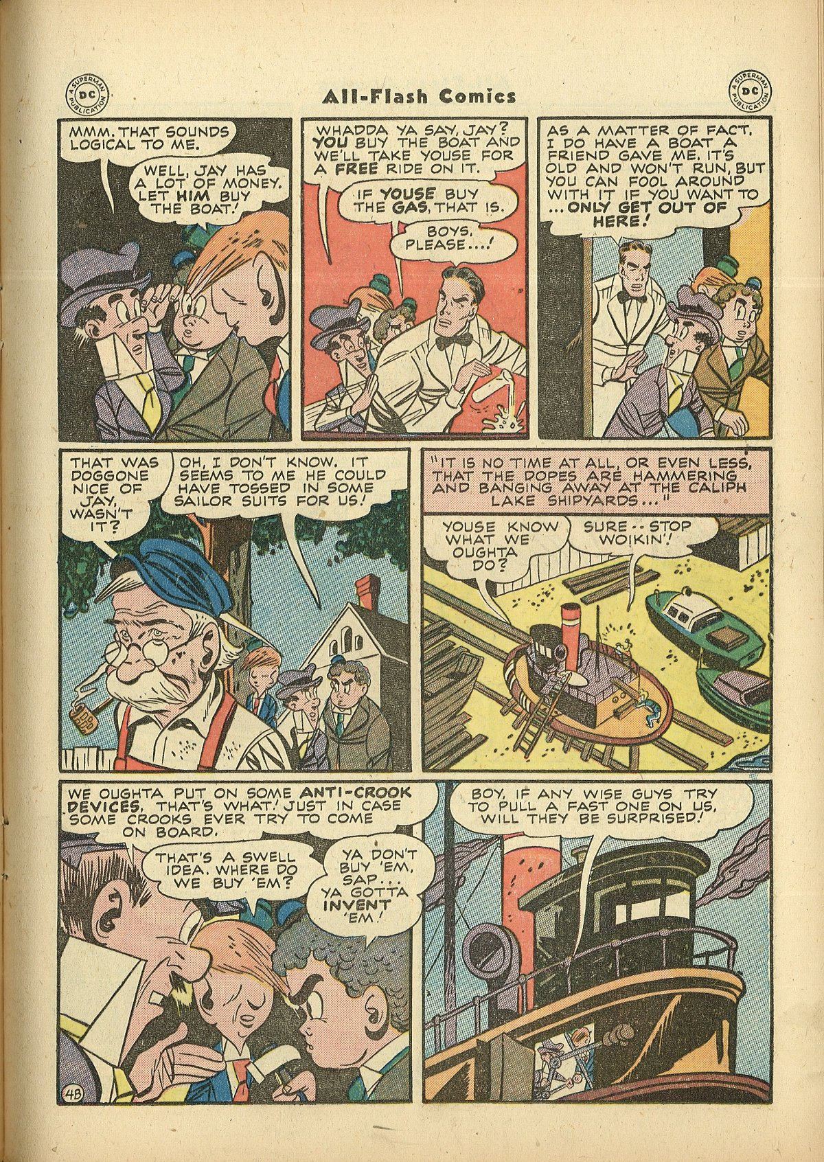 Read online All-Flash comic -  Issue #27 - 19