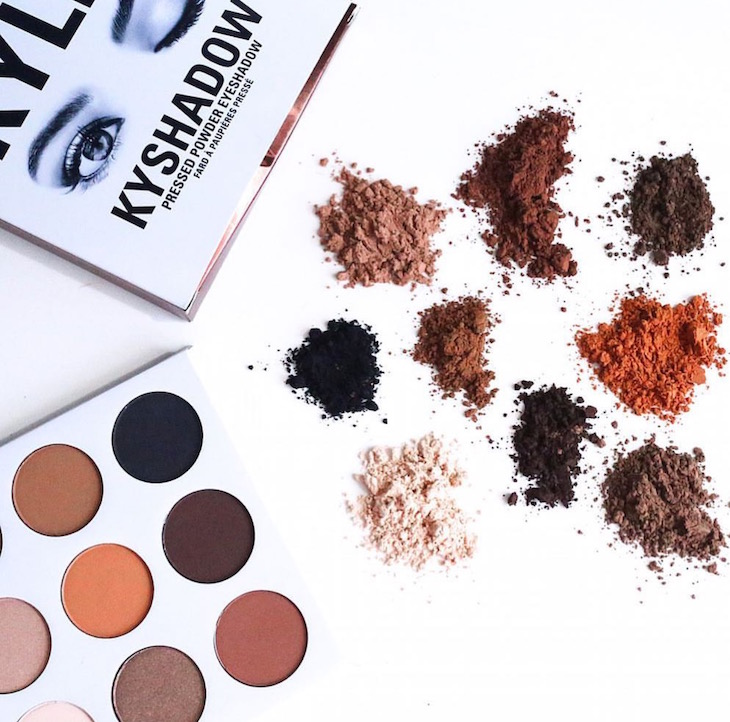 Kylie-Cosmetics-KYSHADOW-Pressed-Powder-Eyeshadow-Palette-The-Bronzed-Palette-PinkOrchidMakeup-Vivi-Brizuela