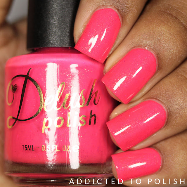 Delush Polish Beach Please Nautical by Nature Swatches and Review