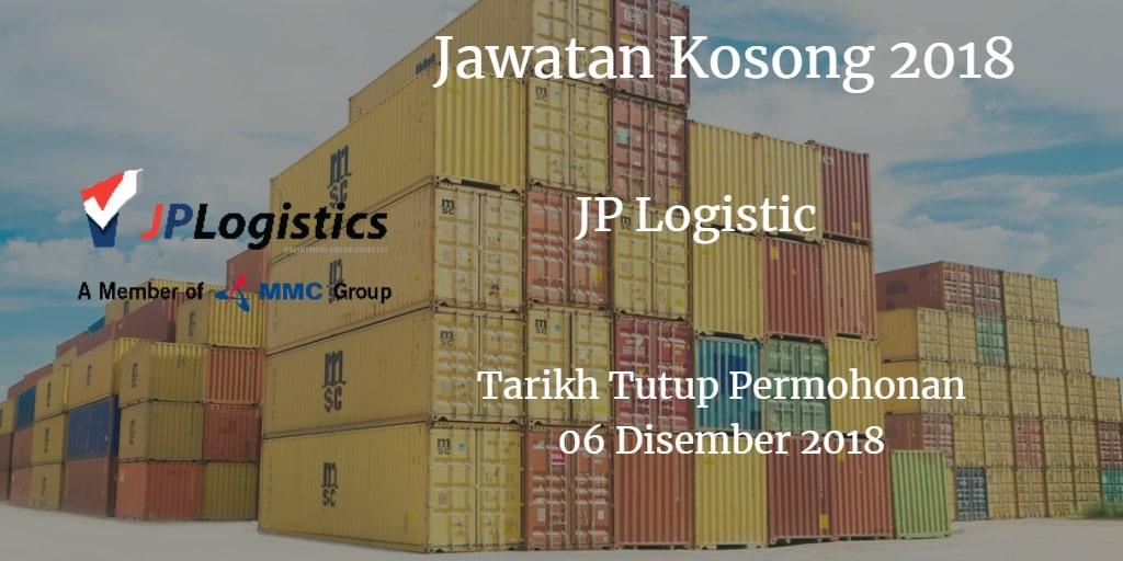 Jawatan Kosong JP Logistic 06 Disember 2018