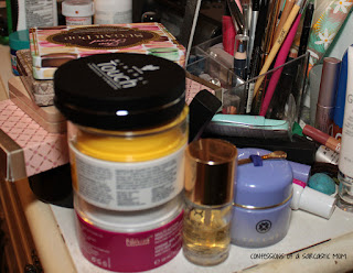 How I organized my beauty area with Mary & Martha