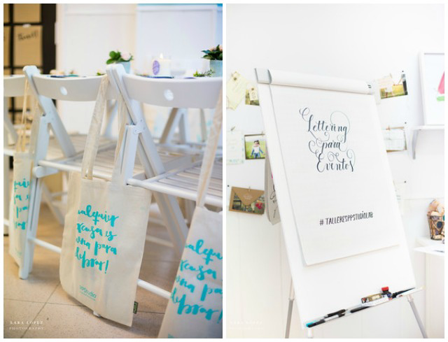 taller lettering project party barcelona cursos bonitos invitaciones de boda originales