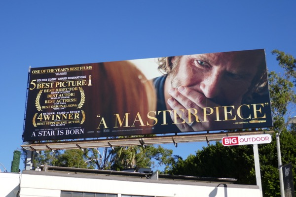 A Star is Born Masterpiece FYC billboard