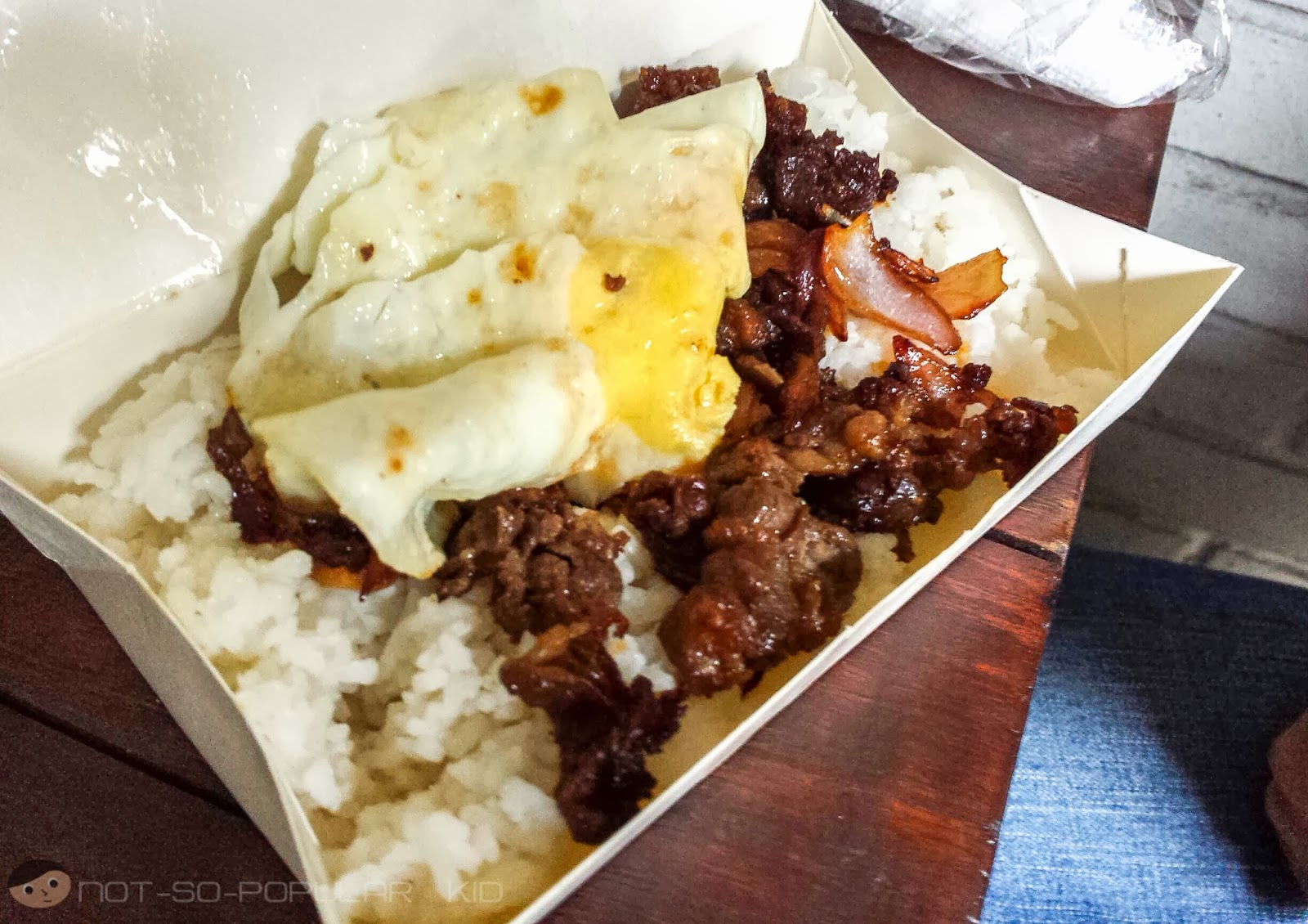 Beef Tapa with Garlic Rice plus egg @ P55