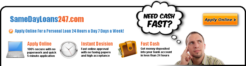 24 Hours 7 Days Online Payday Loan | Same Day Loans 247   Com