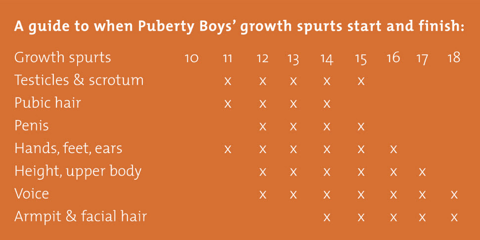 The Facts about Puberty for Guys - Teen Health Center.