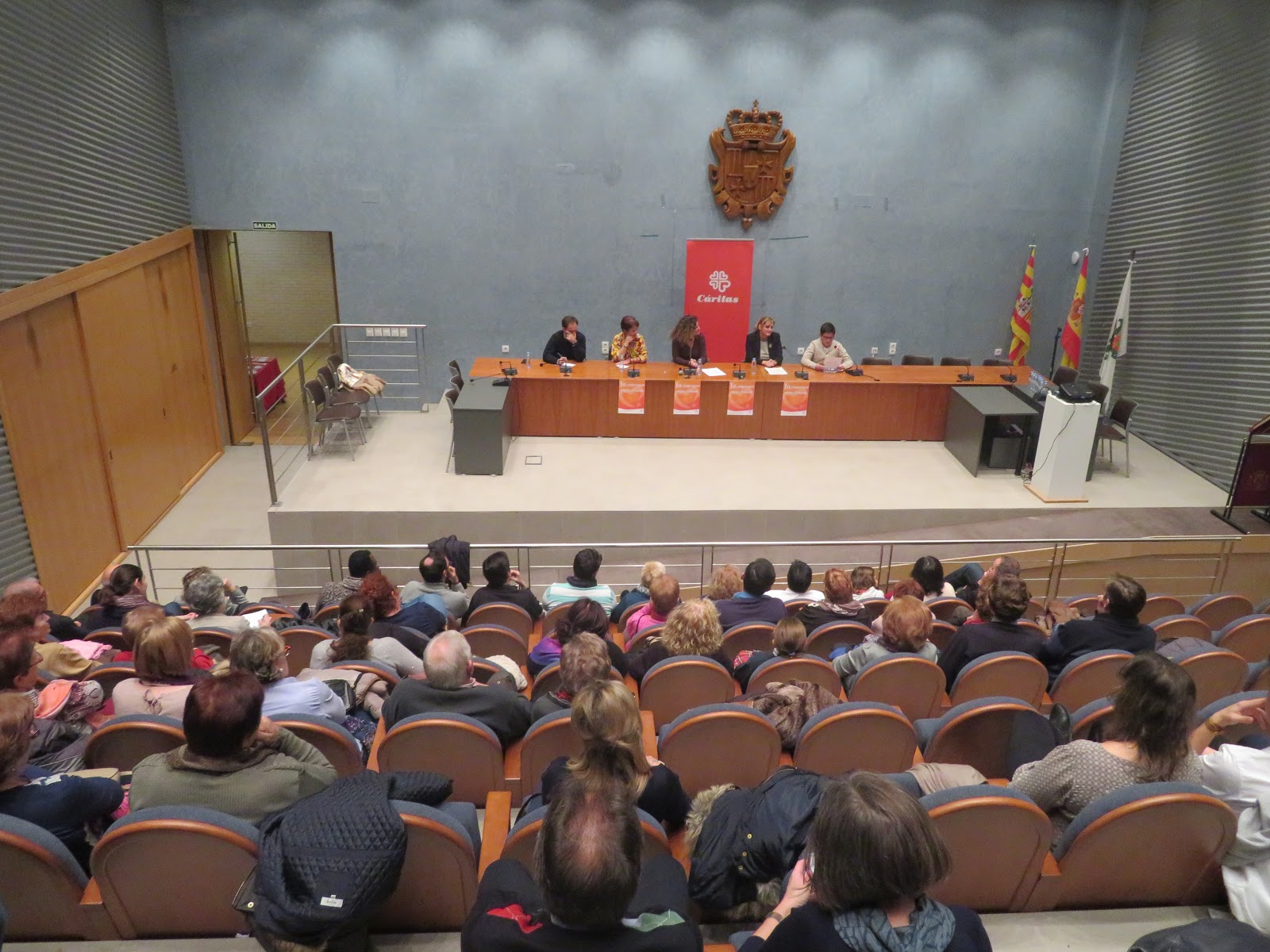 El blog de Cáritas Zaragoza: Presentación de la campaña de Navidad ...