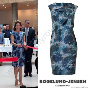 Princess Mary Style SIGNE BEGELUND JENSEN Dress