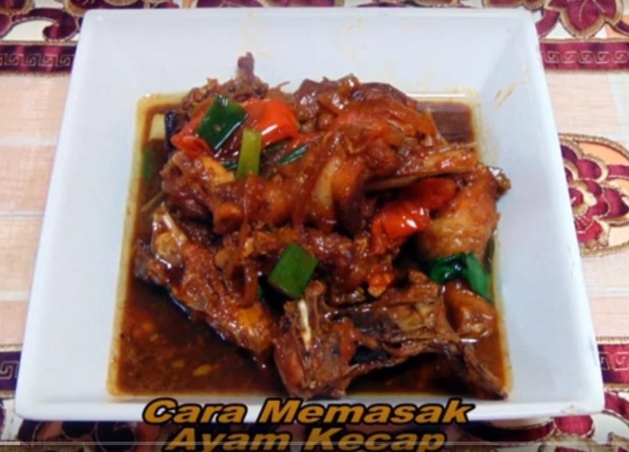 mudahnya memasak ayam kecap dengan cepat dan praktis