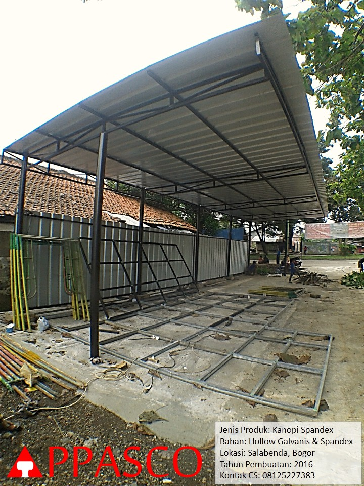 Kanopi Spandex di Salabenda Bogor
