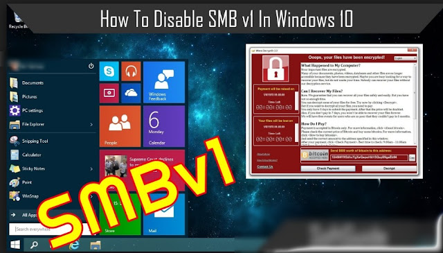 Why You Should Disable SMB1 on Windows 7/8/10 and How To Do It