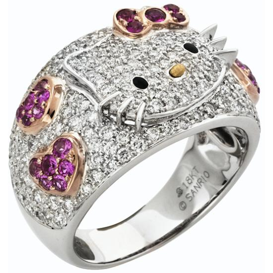 Wedding Lady: The Addict : Hello Kitty Wedding Rings So