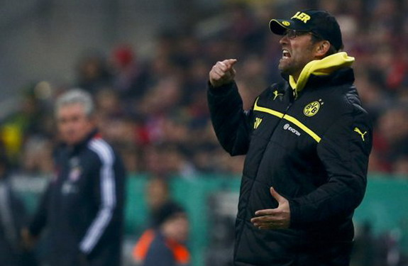 Dortmund coach Jürgen Klopp is not happy with the way Bayern Munich 'copying' his ideas
