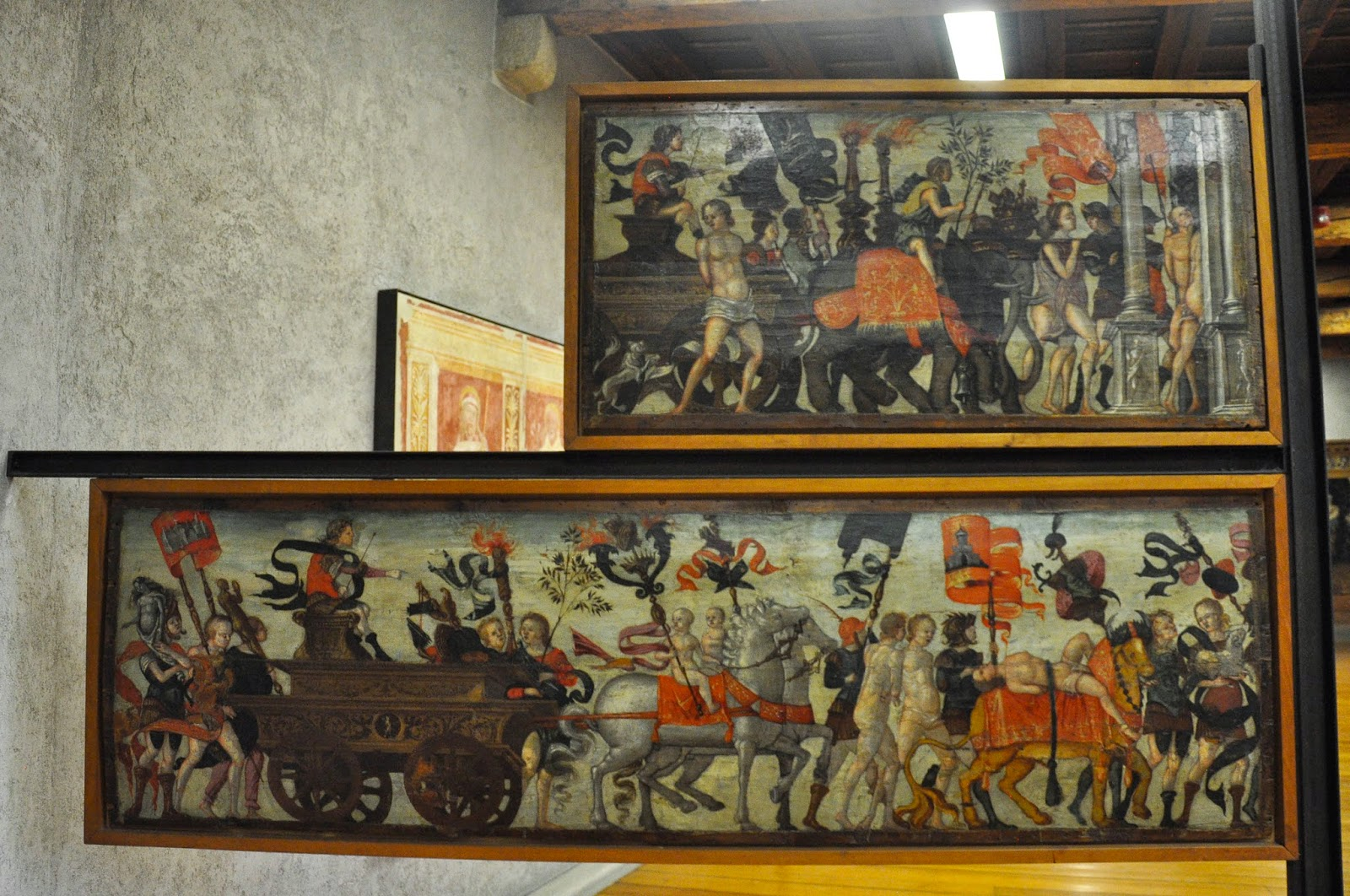 A painting in the Museum of Castelvecchio in Verona