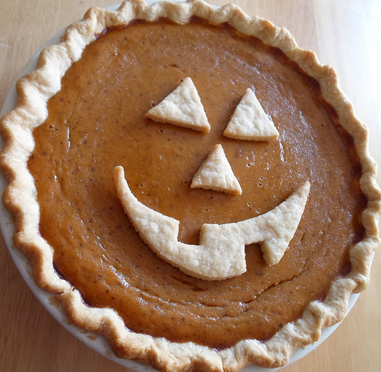 Elsie Park: Decorative Pumpkin Pie Crusts
