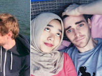 Pria Bule dan Muslimah Cantik Ini Bikin Heboh Netizen, Kisah Cinta Mereka Begitu Haru