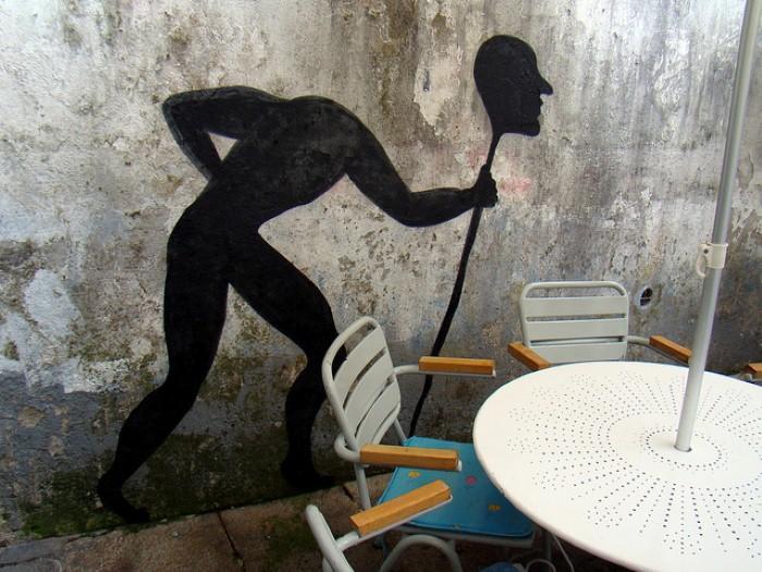Фотографии работ уличного художника. Sam3 31