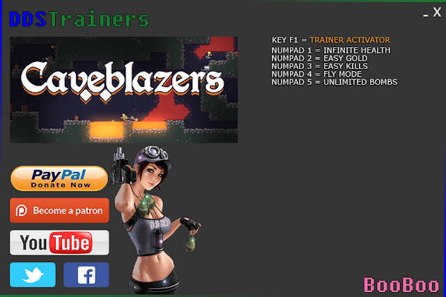 Caveblazers Trainer Cheat for PC v1.0.3b
