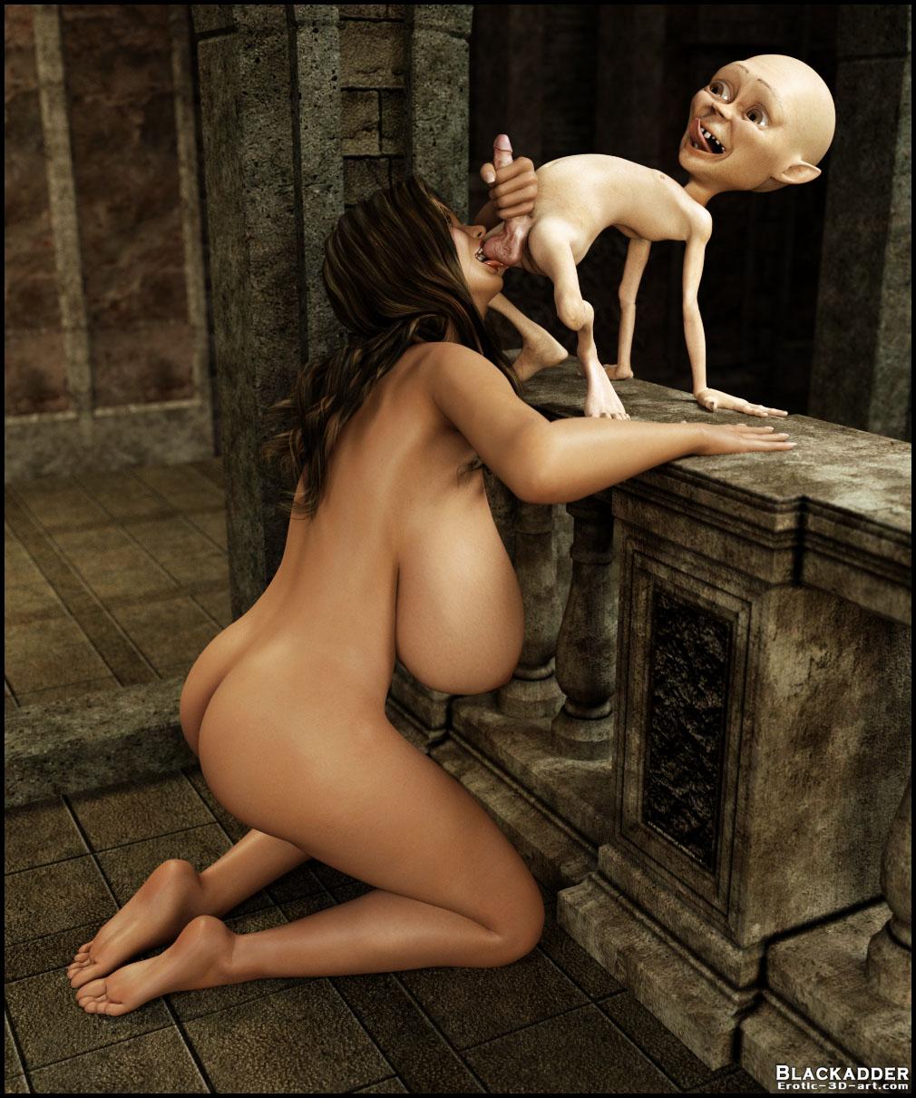 Creature erotic art