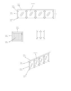 Desain reling dan balkon stainless