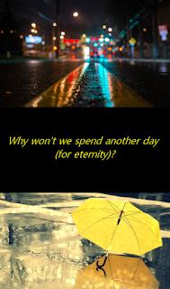 Under the yellow umbrella