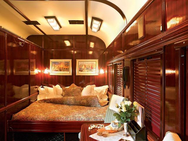 Rovos Rail Afrika, Suite
