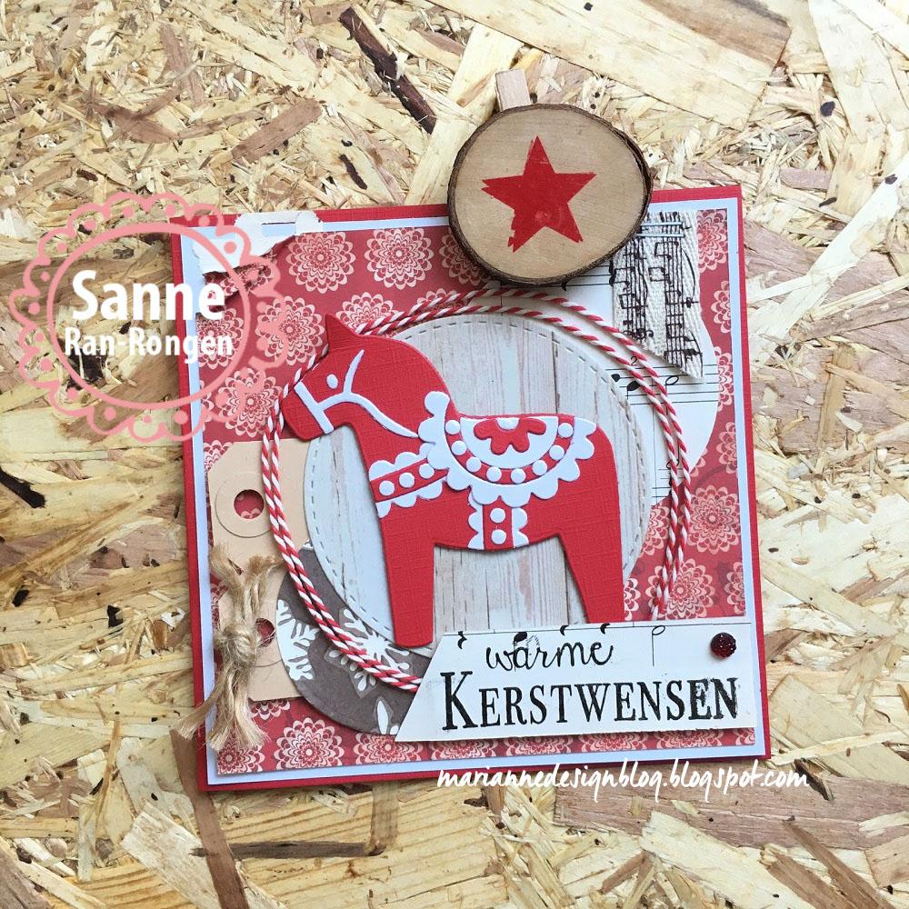 Marianne Design Blog Warme Kerstwensen