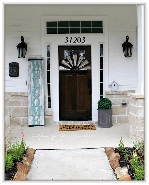 Farmhouse Front Porch-Texas Farmhouse-Suburban Farmhouse-From My Front Porch To Yours