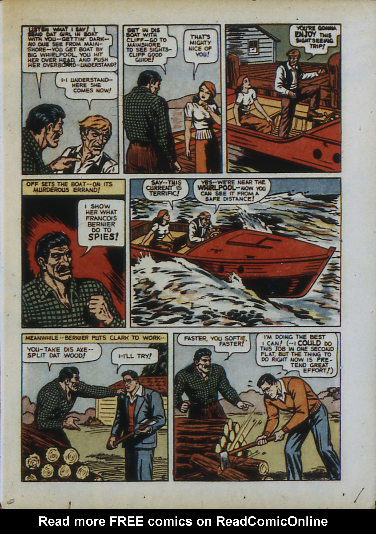 Read online Action Comics (1938) comic -  Issue #33 - 8