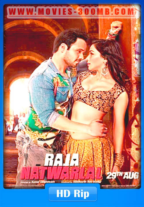 Raja Natwarlal 2014 Hindi 720p WEBHD 600MB x265 HEVC Poster