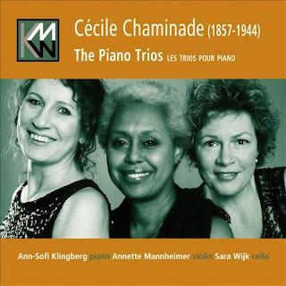CHAMINADE, C. - Piano Trios Nos. 1 & 2