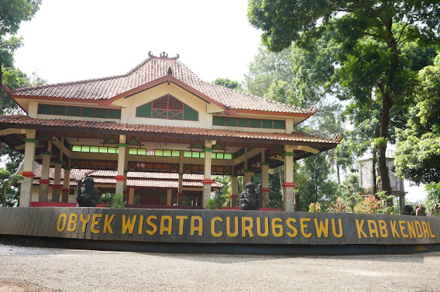 pendopo curugsewu   curug sewu   wonderful Indonesia