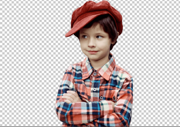 Hasil Setelah Dihilangkan Backgroundnya Adobe Photoshop CC